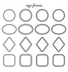 Collection of frames of rope vector