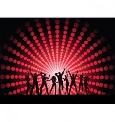 people dancing vector image vector image
