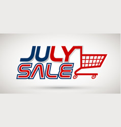 4th july sale vector image