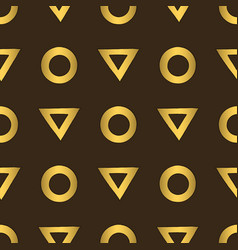 abstract golden seamless pattern for vector image