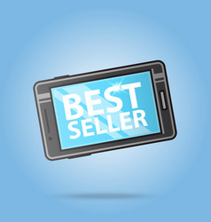 Best seller smartphone logo template sale design vector