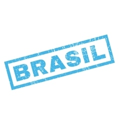 Brasil Rubber Stamp vector
