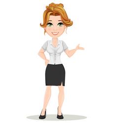 Businesswoman 03 vector