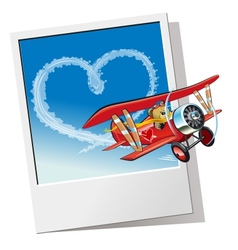 Cartoon valentines card vector