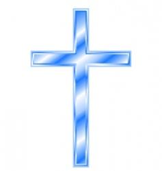 Christian cross vector