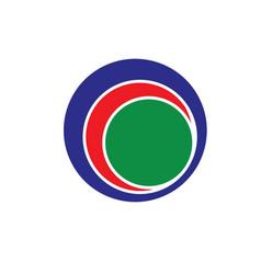 Circle ring logo design vector