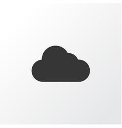 Cloud icon symbol premium quality isolated vector