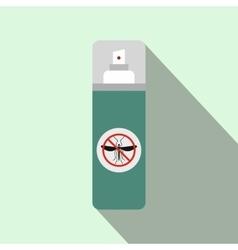 Mosquito spray flat icon vector