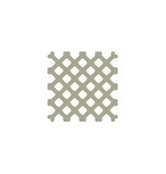 Net fence logo icon vector