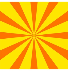 Radial sunray background vector