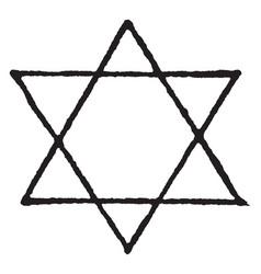 Star designs an emblem seen the world over in vector