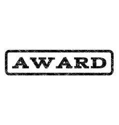 award watermark stamp vector image vector image