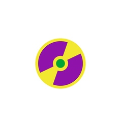 Disk Icon vector image