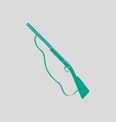 hunt gun icon vector image