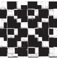 Texture Checker Grunge vector image vector image