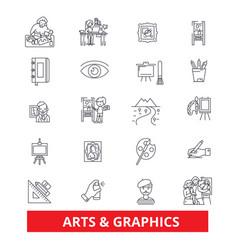 Art graphics design web internet interface vector