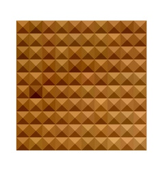 Bronze Brown Abstract Low Polygon Background vector