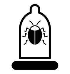 Bug Protection Icon vector