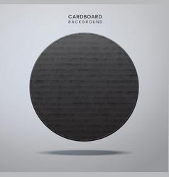 cardboard vintage texture background vector image