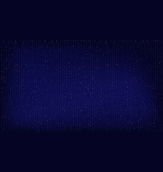 dark blue circuit background for technology web vector image