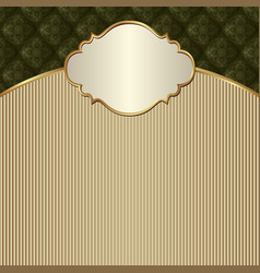 decorative background with vintage pattern and vector image