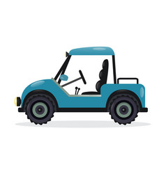 golf cart design element vector image