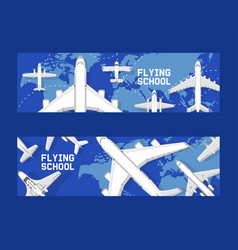 plane aircraft airplane jet flight vector image