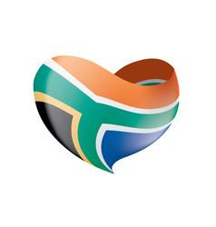 South africa flag vector