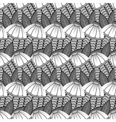 Tile flower pattern vector