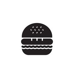 Hamburger icon black vector