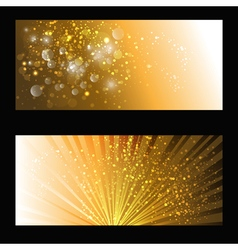 Abstract gold backdrop vector
