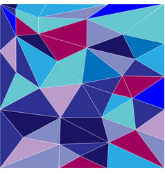 abstract low poly background of triangles vector image