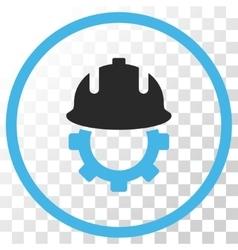 Development Helmet Icon vector image