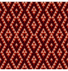 Geometric etnic abstract background vector image