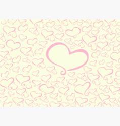 heart pattern vector image