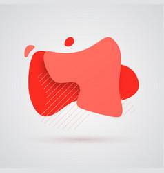 set abstract liquid shape vector image