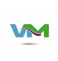 VM logo vector image
