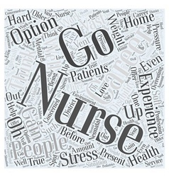 What are Your Options for Careers with Nursing vector image