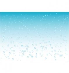 drops fall background vector image vector image