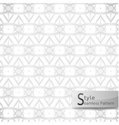abstract seamless pattern lotus floral lattice vector image