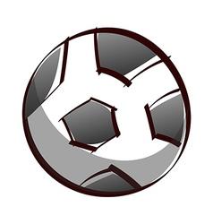 A soccer vector