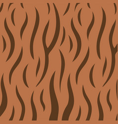 animal skin print pattern texture tiger stripe vector image