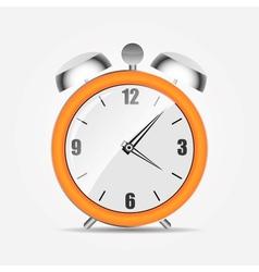 clock alarm icon vector image