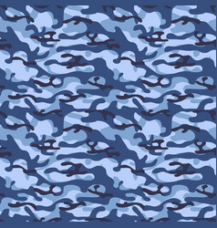 Colorful seamless pattern winter camouflage khaki vector