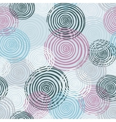 Colorfull seamless helix pattern Winter colection vector image