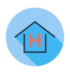 Hostel vector