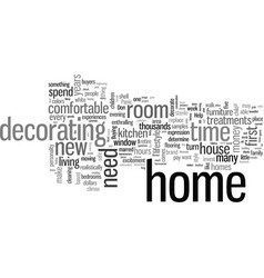 How to decorate a new home vector