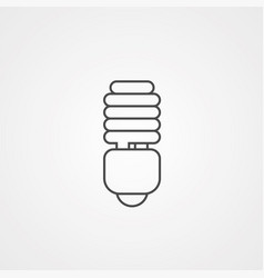 lamp icon sign symbol vector image