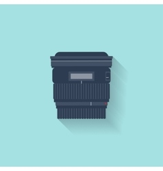 Photography Photo camera in a flat style with vector