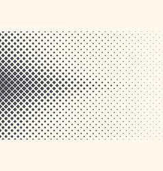Rhombus abstract geometric halftone technologic vector